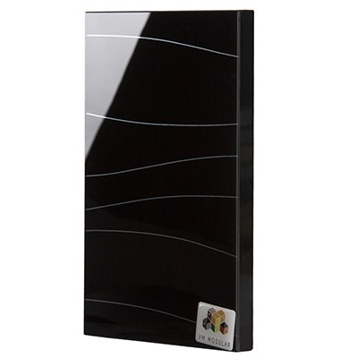 2122 Black Current Glass Shutter