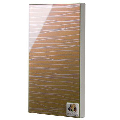 2103 Golden Waves Glass Shutter